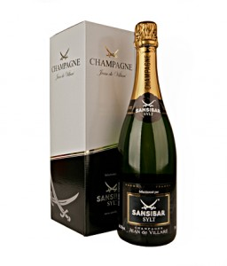 Sansibar Champagner Flasche