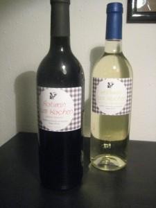 Rotwein und Weißwein zum Kochen